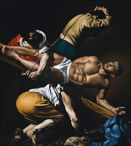 Untitled 01-10 (after Caravaggio, 1602; featuring Francois Sagat)